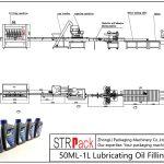 Automatické plnicí potrubí mazacího oleje 50ML-1L