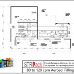 Plnicí linka pro aerosol 80 až 120 cpm