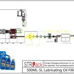 Automatické plnicí potrubí mazacího oleje 500ML-5L