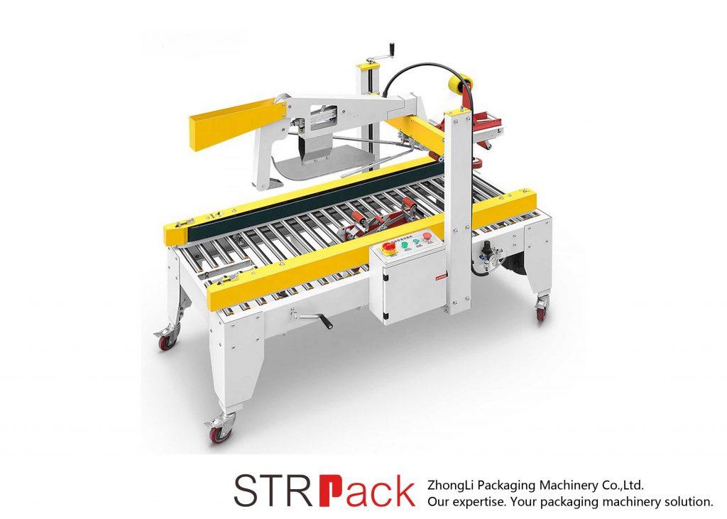 Automatické lepicí pásky klapky skládací případ lepenkové krabice těsnicí stroj
