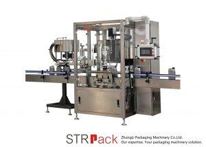 Automatické kontinuální uzavírací stroj