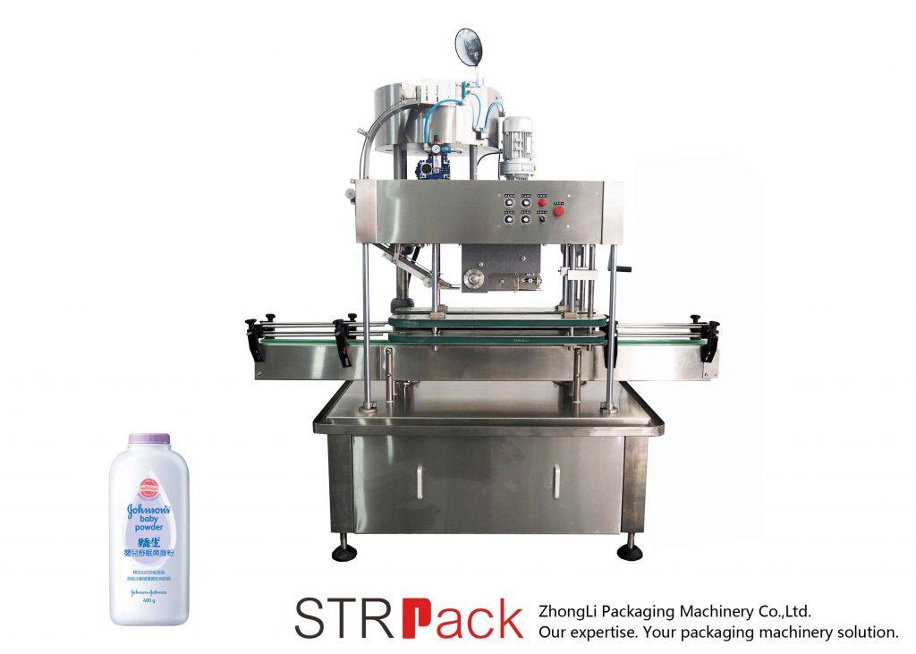 Automatický lineární uzavírací stroj (Press Cap)