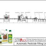 Plnicí linka pro automatické pesticidy