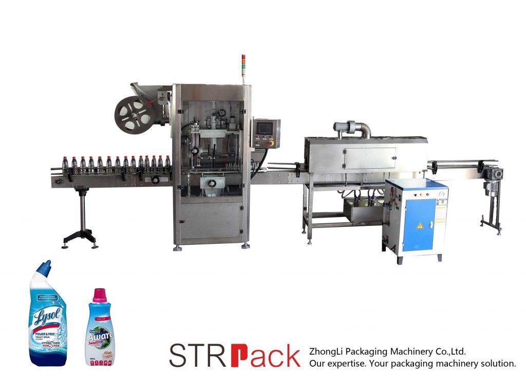 Automatické smršťování rukávů štítkovací stroj