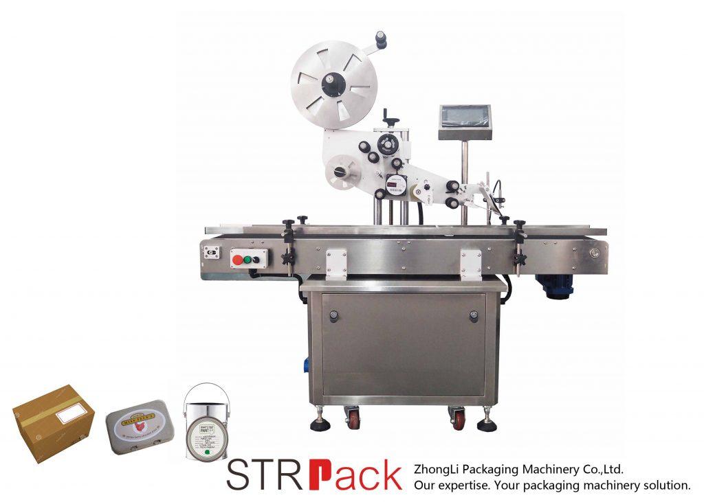 Automatický vertikální rovinný samolepicí etiketovací stroj