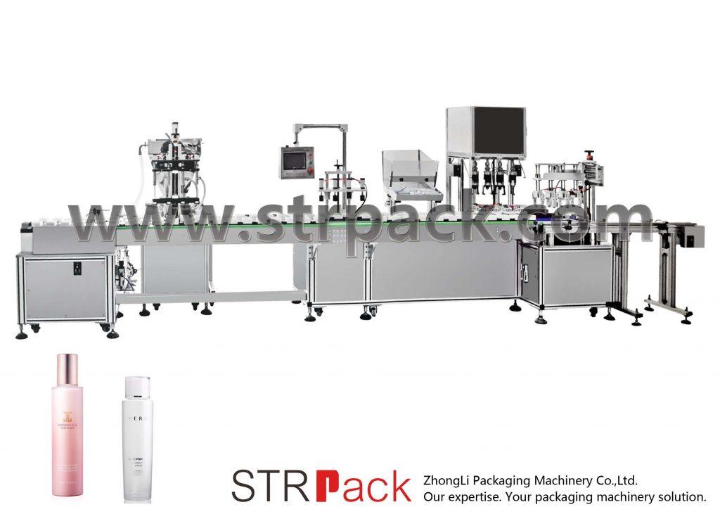 Automatické plnění a uzavírání vody emulzí