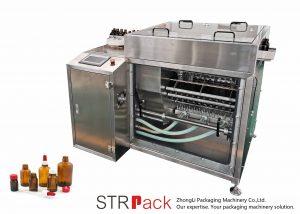 Stroj na oplachování lahví