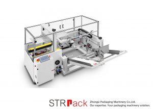 Erektorový stroj na balení krabic do krabic