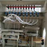 Linka pro leptání tekutin, Linka pro plnění tekutin Harpic, Plnící stroj na toaletní čističe
