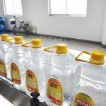 Plnicí linka pro automatické jedlé oleje
