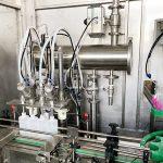 Stroj na plnění lahví do lahví s uzávěrem do výbušného prostředí
