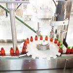 Balicí linka pro automatické plnění tekutých vitamínů