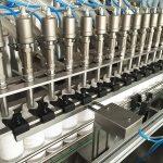 Stroj na plnění lahví z pesticidů