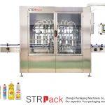 Automatický pístový stroj na plnění tekutin